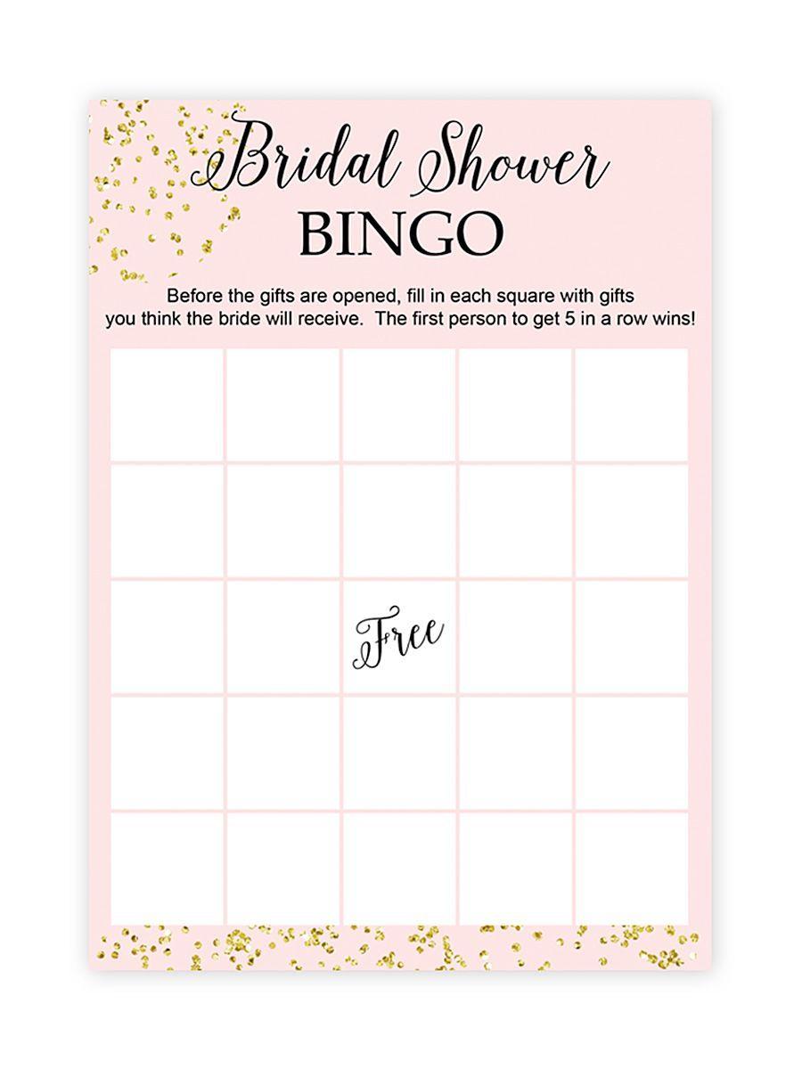 10 Printable Bridal Shower Games You Can Diy | Bridal Shower
