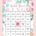 10 Printable Bridal Shower Games You Can Diy | Bridal Shower
