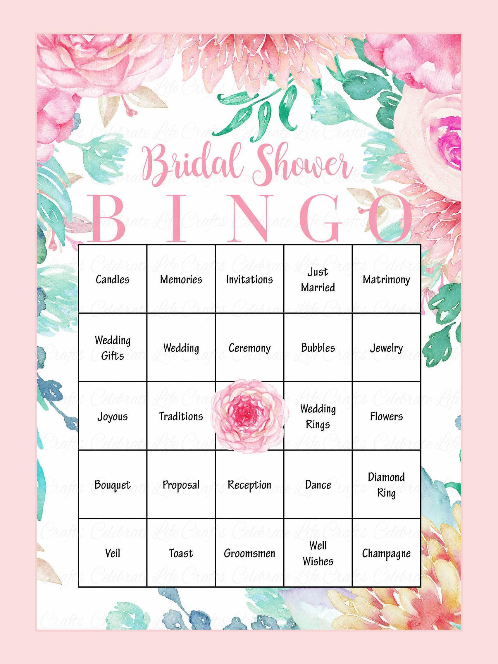 10 Printable Bridal Shower Games You Can Diy   Bridal Shower