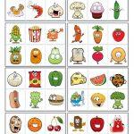 32 Bingo Cards   Food   English Esl Worksheets For Distance