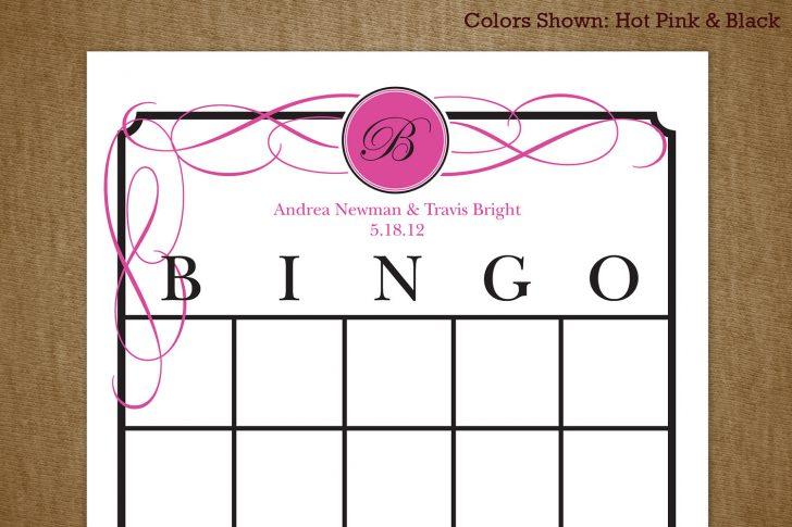Free Printable Bridal Gift Bingo Cards
