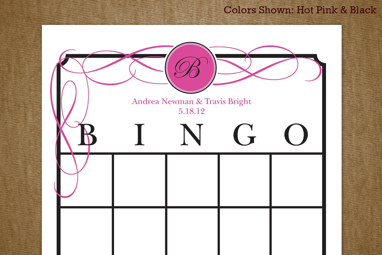 7 Best Images Of Bridal Shower Gift Bingo Printable - Free