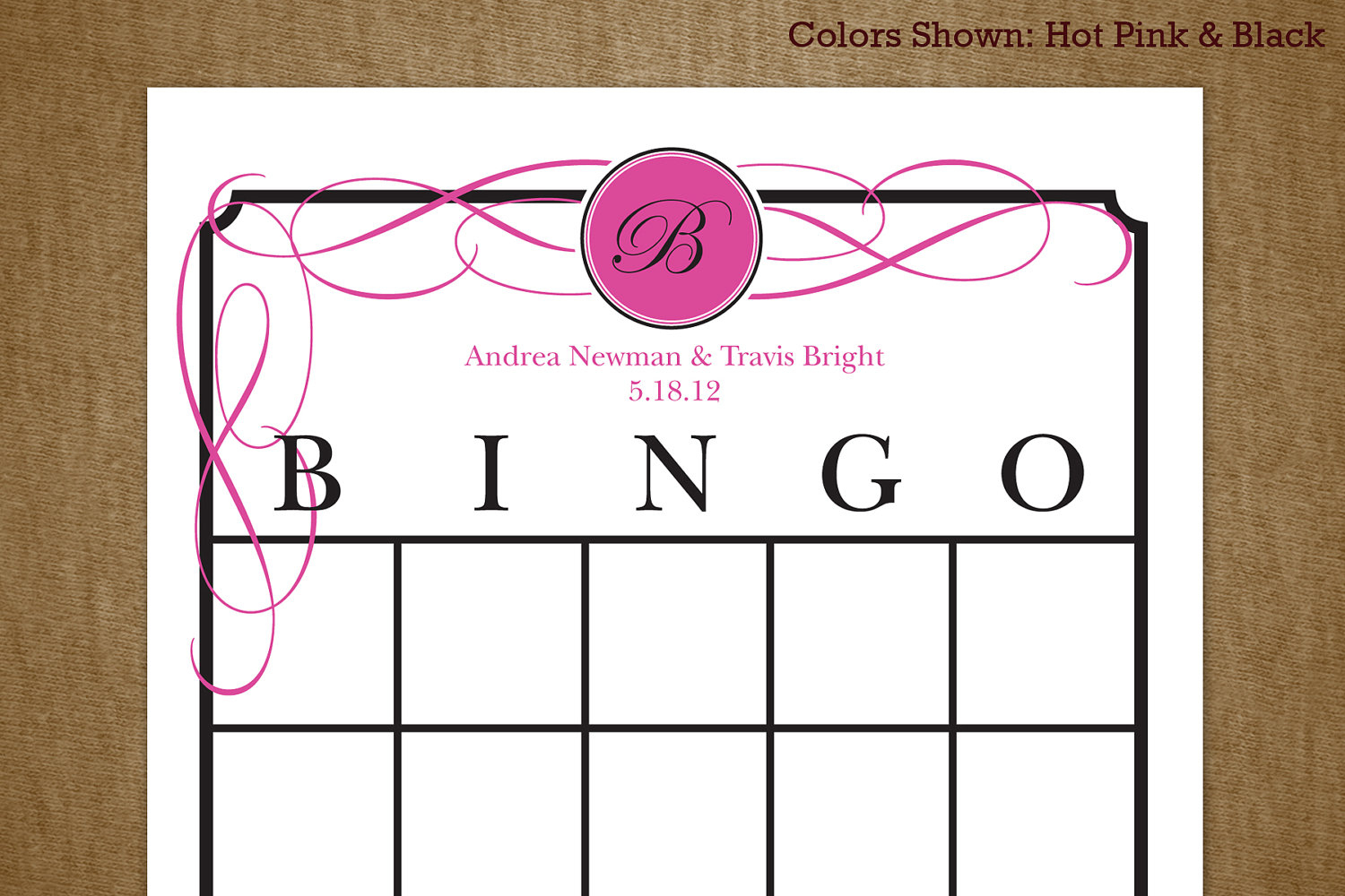 7 Best Images Of Bridal Shower Gift Bingo Printable - Free