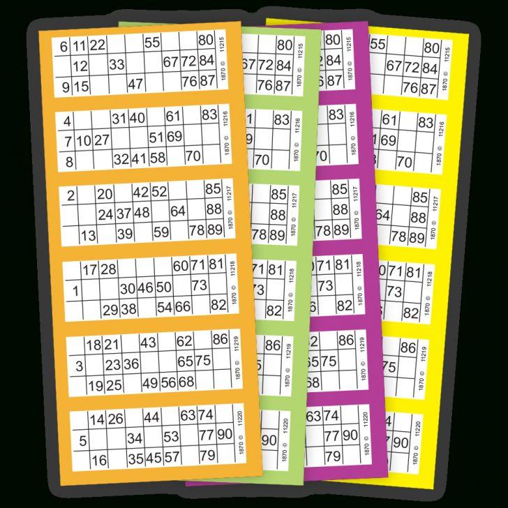 Free Printable Bingo Cards 1-90 PDF