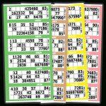 90 Number   Bingo Paper   Arrow International