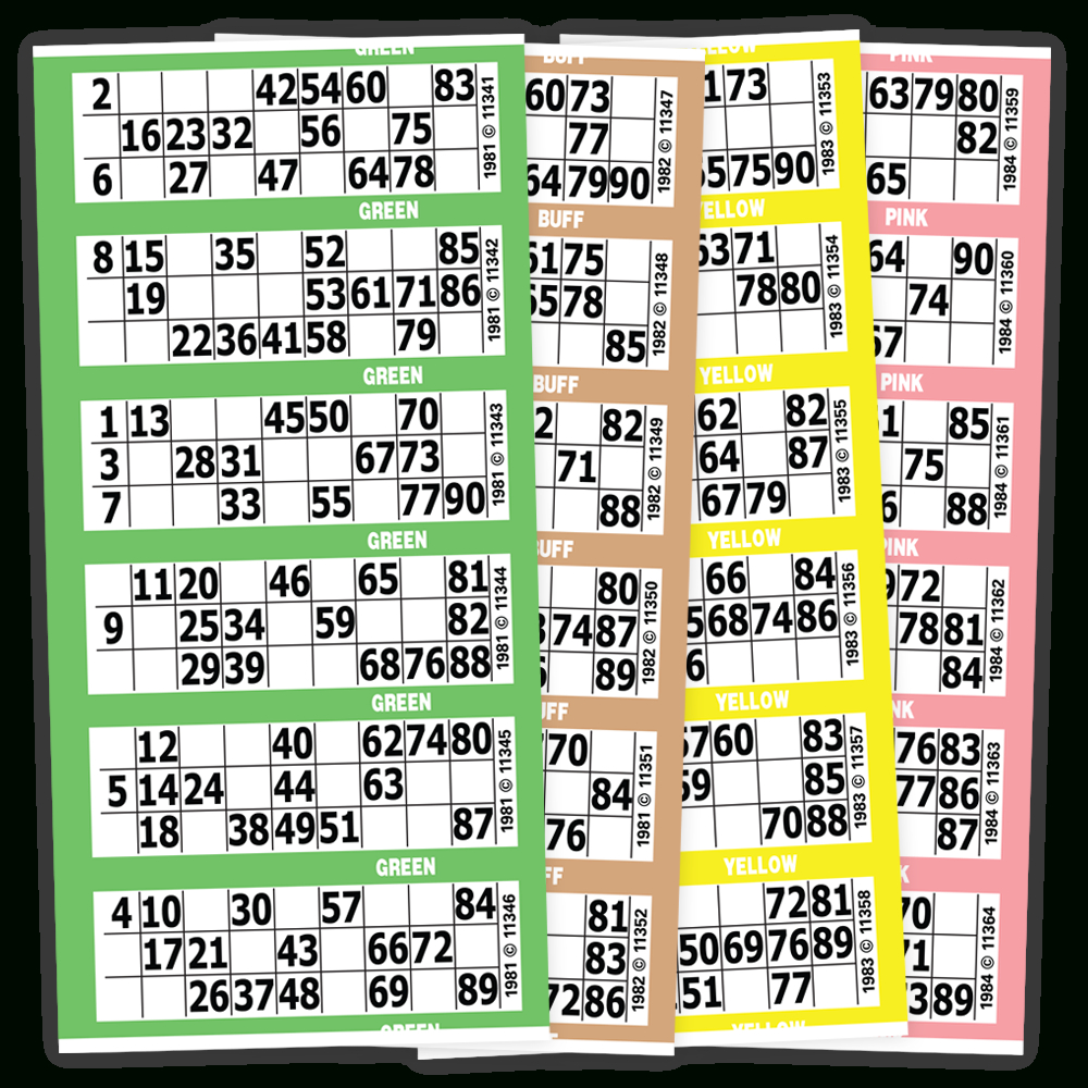 90 Number | Bingo Paper | Arrow International