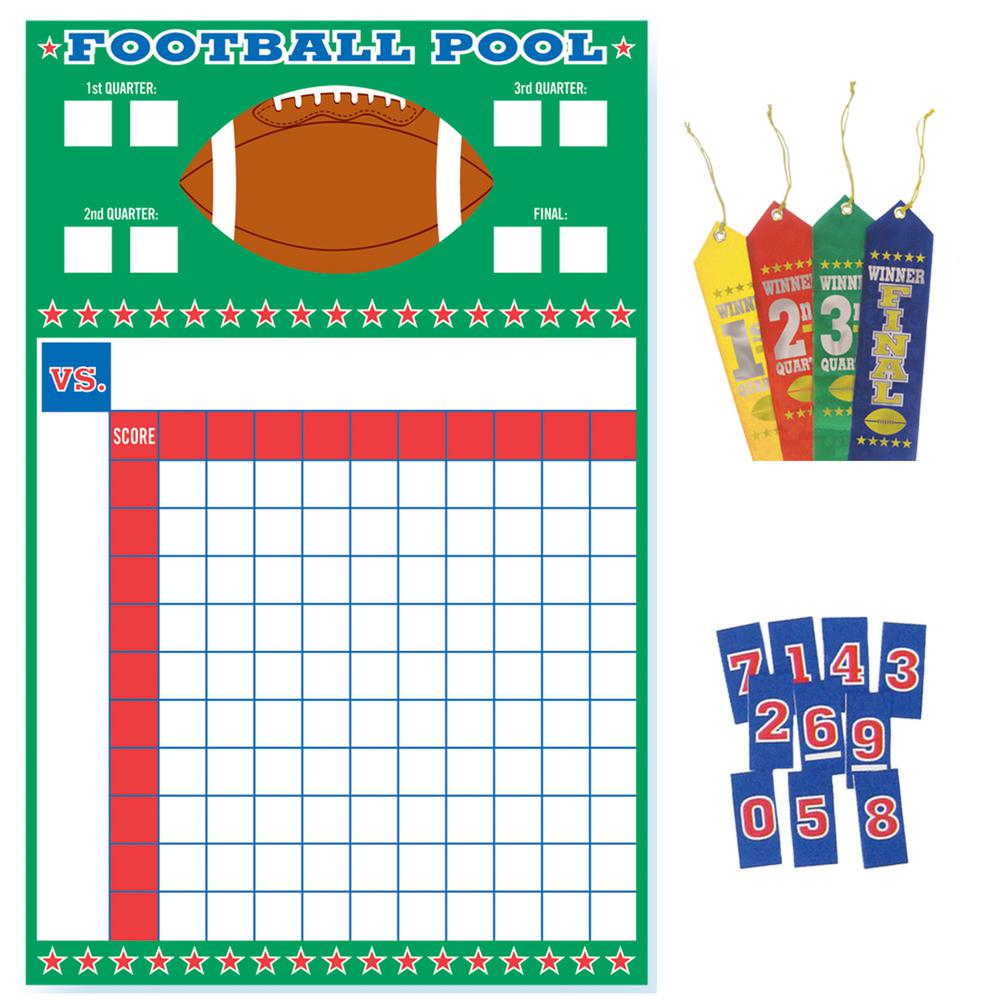 Amscan 27 In. Football Pool Game With Ribbons