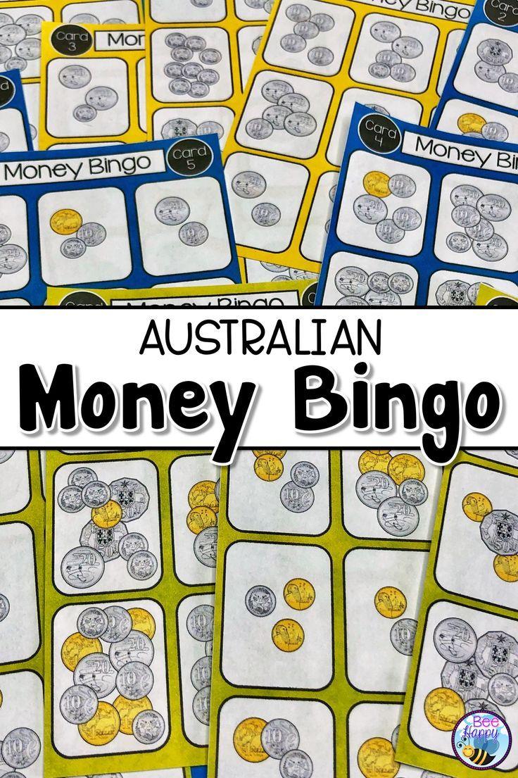 Australian Money Bingo Games | Money Bingo, Australian Money