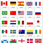 Bingo About Nationalities   English Esl Worksheets For