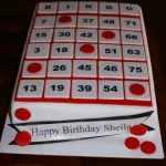 Bingo Card Cake | Bingo Cake, Bingo Party, Bingo Cards
