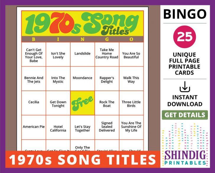 Printable Classic Bingo Cards