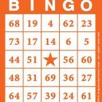 Bingo Card Template Free Printable 2 | Bingo Card Template