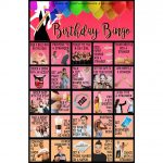 Birthday Bingo  30 Cards  Birthday Dares   Birthday Party