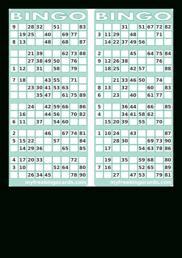 Printable Bingo Card Creator
