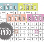 Bowling Bingo | Free Download | Free Printables