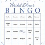 Bridal Bingo Cards   Printable Download   Prefilled   Bridal