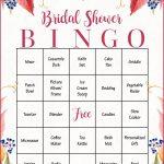 Bridal Shower Gift Bingo Cards   Printable Download   Bridal