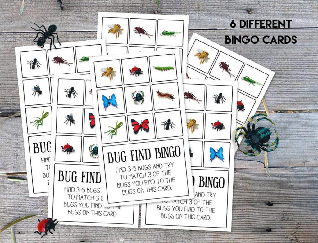 Bug Find Bingo | Endless Outside
