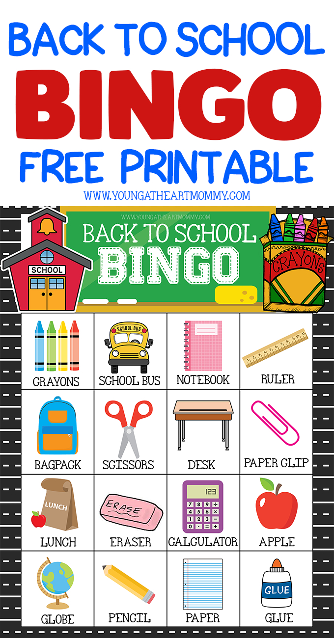Celebrate A New School Year With Free Printable Back To