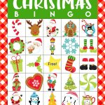 Christmas Bingo Game Printables   This Festive Christmas