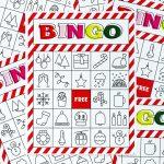 Christmas Bingo Printable For Large Groups & Small • A