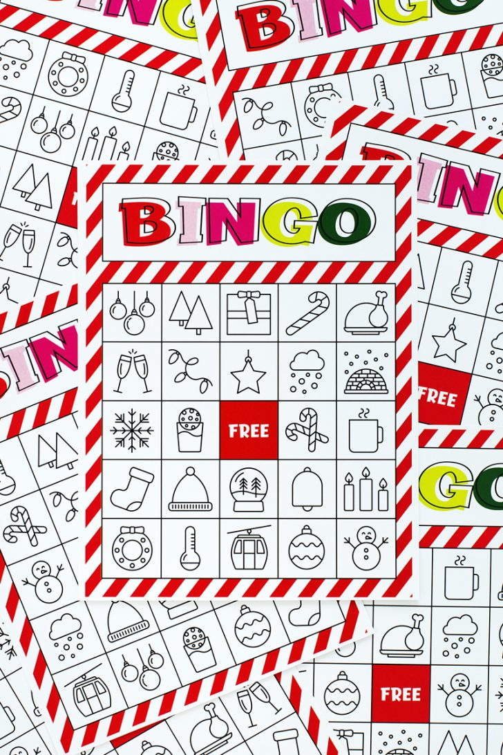 Free Printable Bingo Cards For A Large Group