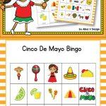 Cinco De Mayo Bingo | Bingo For Kids, Cinco De Mayo, Cinco