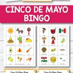 Cinco De Mayo Bingo | Cinco De Mayo Activities, Learning
