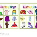 Clothes Bingo