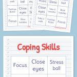 Coping Skills Bingo | Bingo Printable, Free Printable Bingo