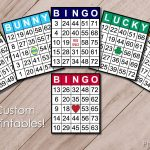 Custom Bingo Printables | Custom Bingo Cards, Bingo Card