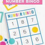 Download This Free Number Bingo Set Help Children Learn And