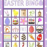 Easter Bingo Game For Kids   Bingo Games For Kids, Easter