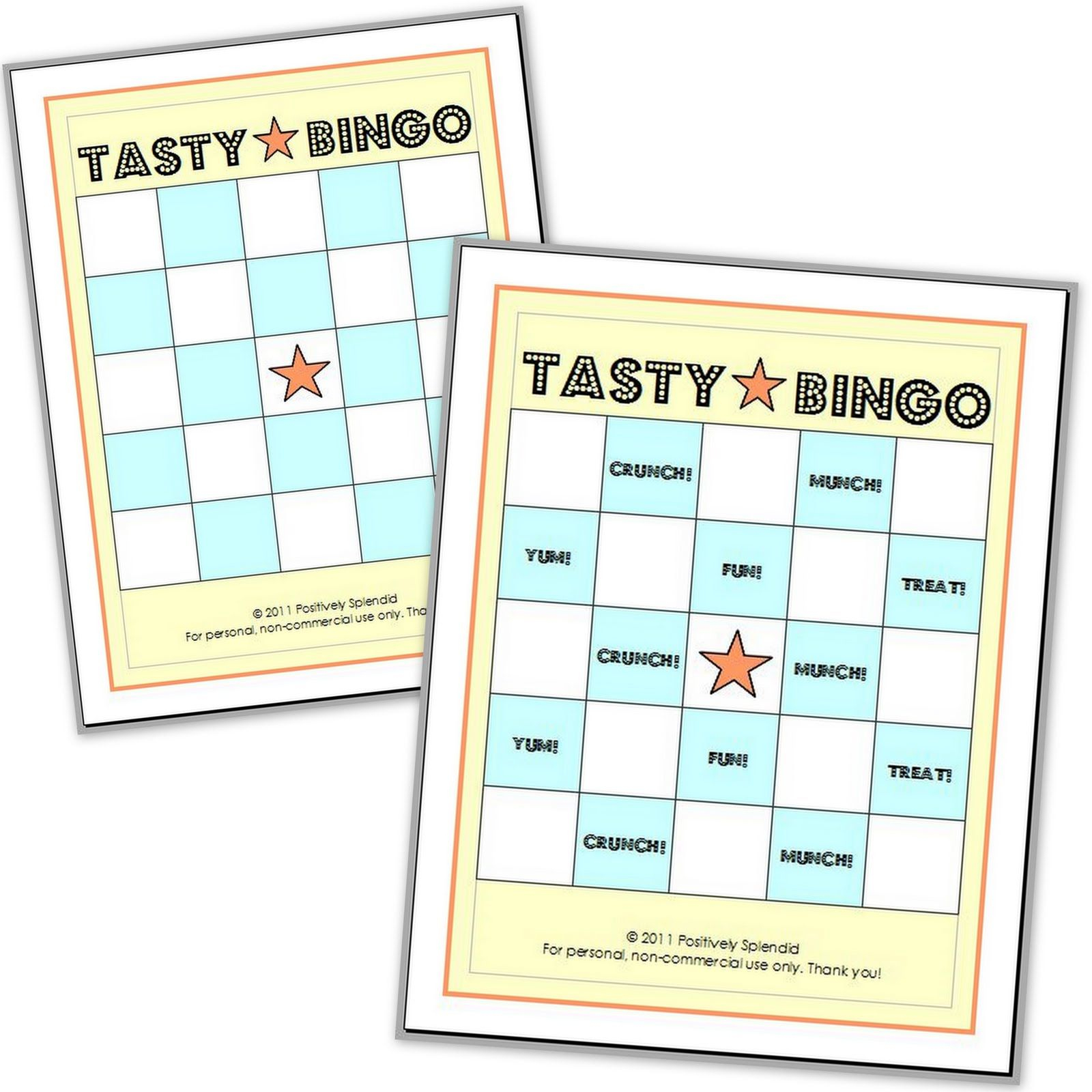 Edible Bingo Game {Free Printables} | Bingo Games Free, Free