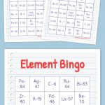 Element Bingo | Bingo Cards Printable, Free Printable Bingo