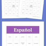 Español/spanish Bingo | Free Bingo Cards, Bingo Cards