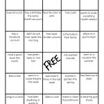 Family Reunion: Get To Know You Bingo