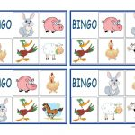 Farm Animals Bingo   English Esl Worksheets For Distance