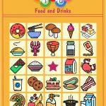 Food & Drinks Bingo Game