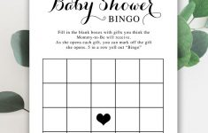 Free Baby Shower Printable – Baby Bingo – Instant Download
