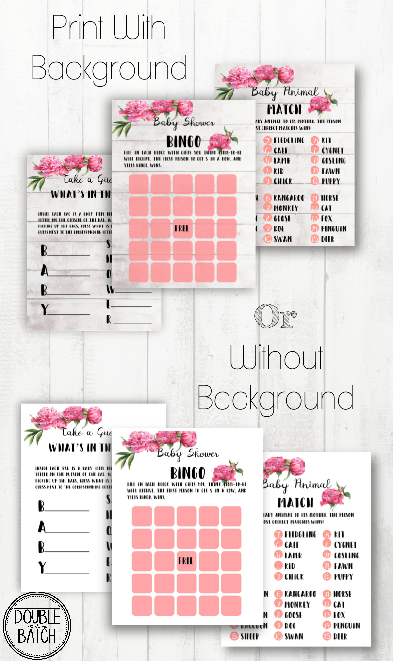 Free Baby Shower Printables | Free Baby Shower Printables