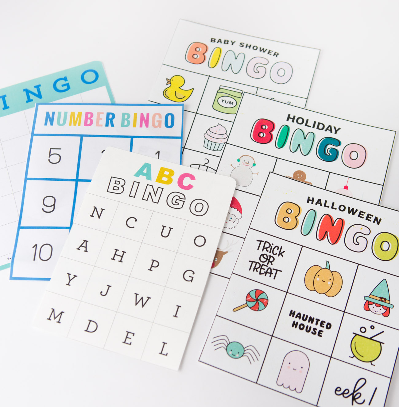 Free Bingo Games For Kids - Design Eat Repeat