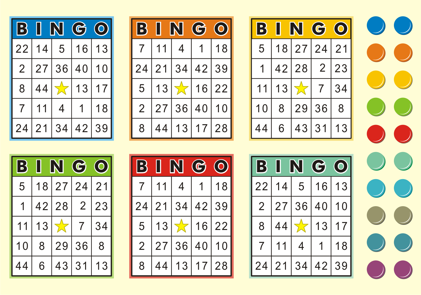 Free Bingo Vector - (671 Gratis Downloads)