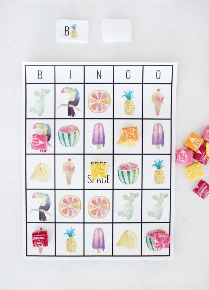 Free Printable Bingo Cards Summer