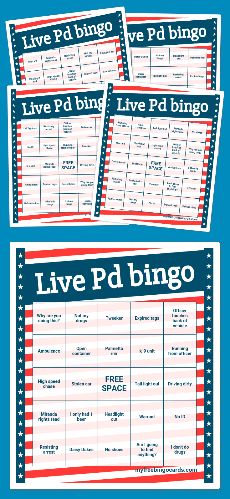 Free Printable Bingo Cards | Bingo Card Generator, Bingo
