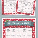Free Printable Bingo Cards | Christmas Bingo, Free Printable