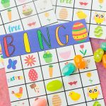 Free Printable Easter Bingo Cards   Play Party Plan