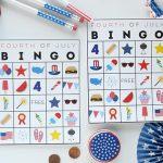 Free Printable Fourth Of July Bingo | Fun365