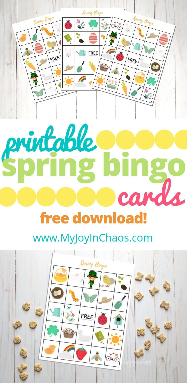 Free Printable Spring Bingo | Free Printables | Free