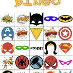 Free Printable Super Hero Bingo Party | Hero Crafts